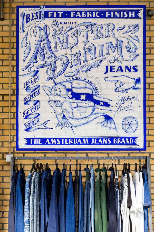 Krabman Signs Amsterdenim muurschildering